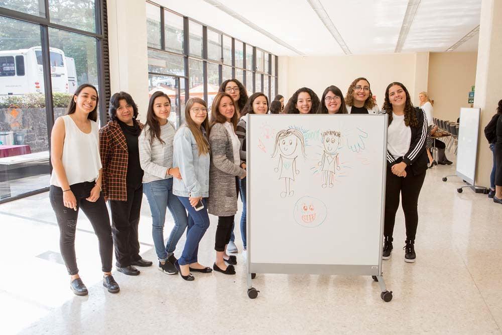 Estudiantes de la carrera en pedagogía Anáhuac México